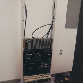 VE1JCF Equipment Rack